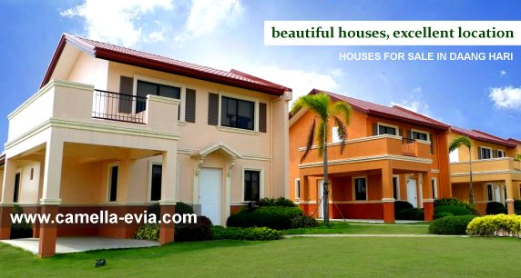 Camella Vista City House and Lot for Sale in Vista City Philippines
