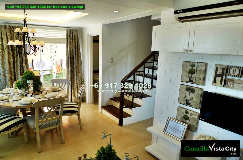 Camella Vista City Carina House And Lot For Sale In