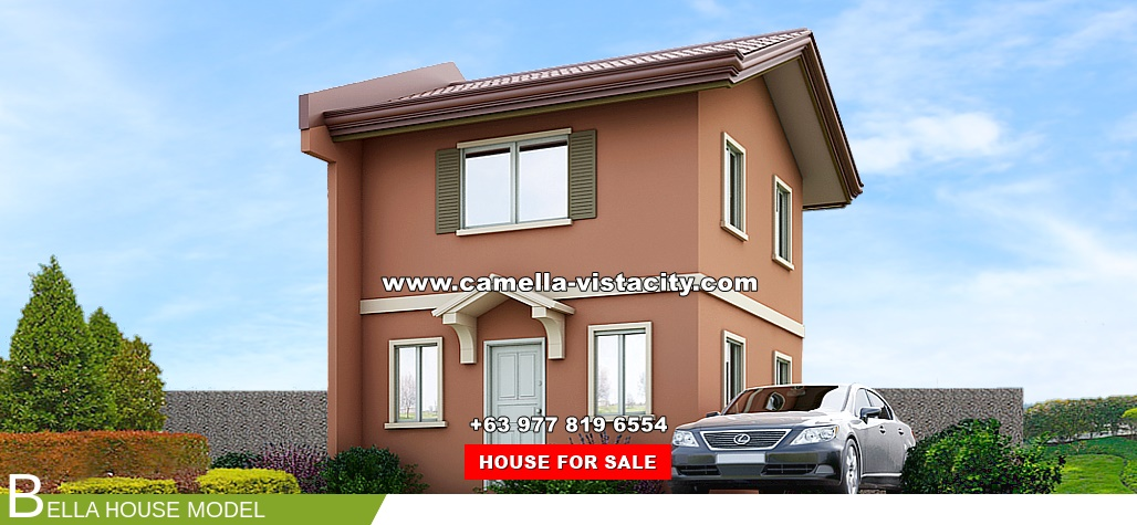 Bella Camella Vista City House and Lot for Sale in Daang Hari Philippines