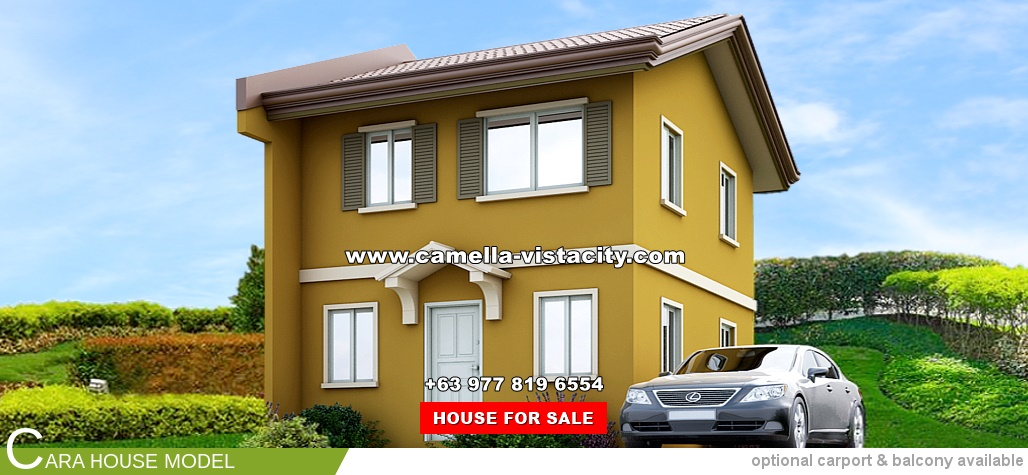 Cara Camella Vista City House and Lot for Sale in Daang Hari Philippines