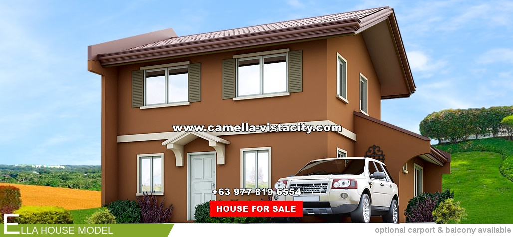 Ella Camella Vista City House and Lot for Sale in Daang Hari Philippines