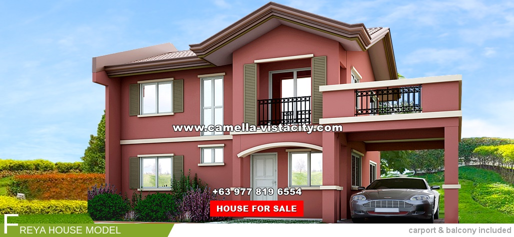 Freya Camella Vista City House and Lot for Sale in Daang Hari Philippines