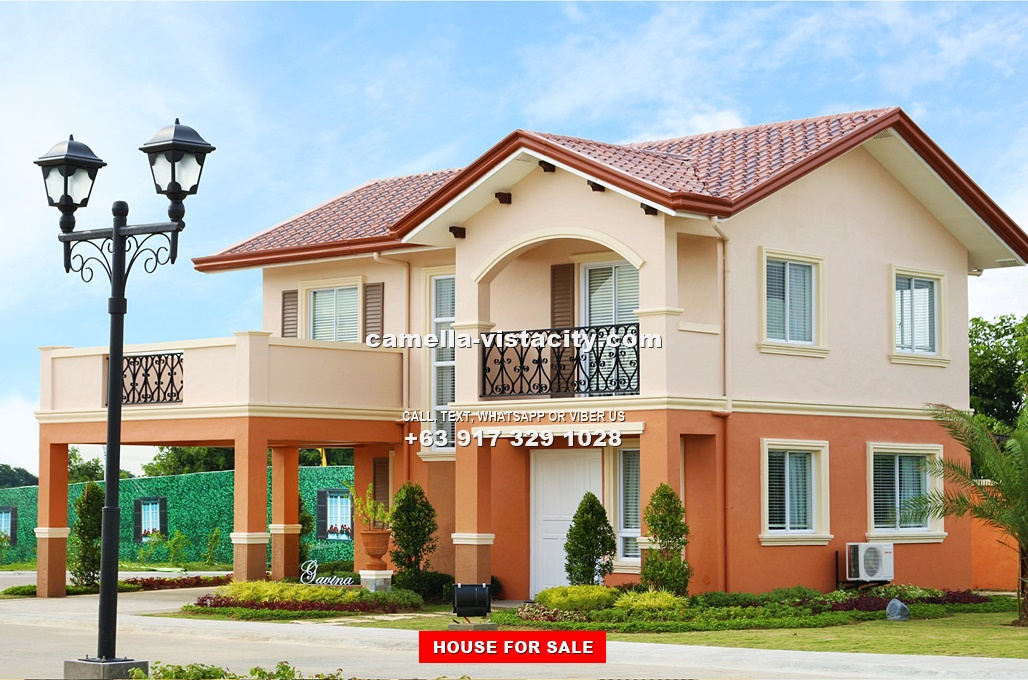 Camella vista city philippines house and lot for sale in for The model house