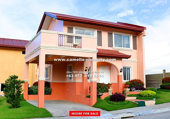 Camella Vista City House and Lot for Sale in Daang Hari Philippines