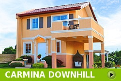 Carmina Downhill House and Lot for Sale in Vista City Philippines