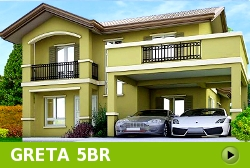 Greta House and Lot for Sale in Vista City Philippines
