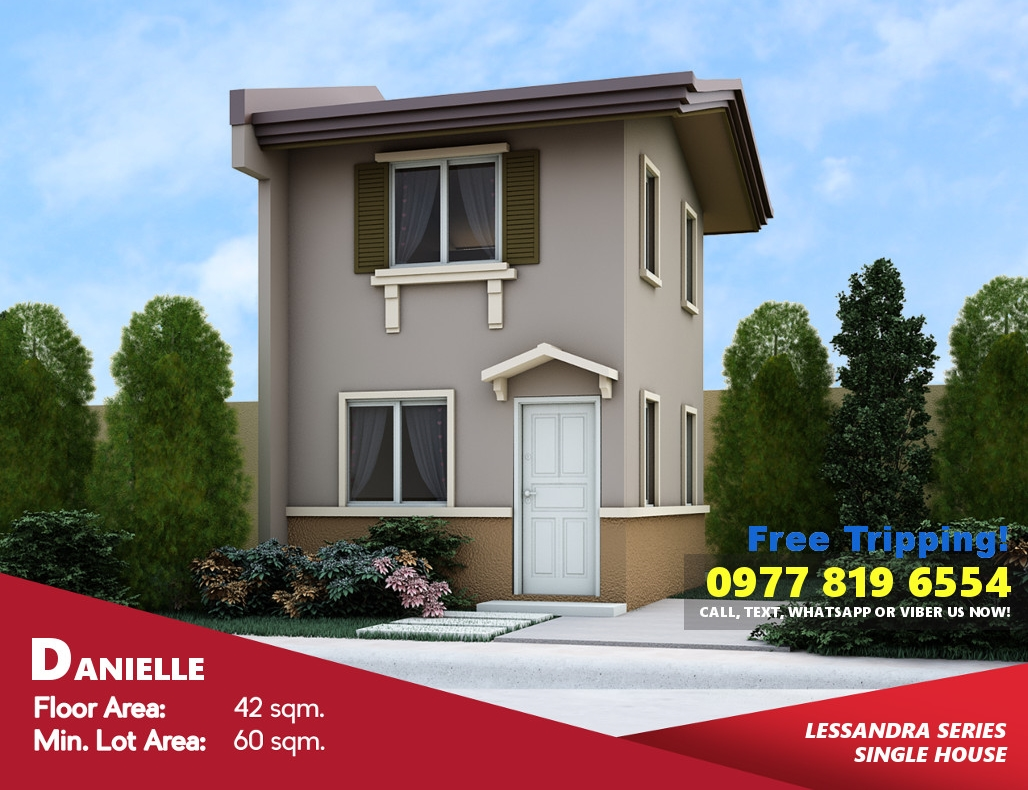 Danielle House for Sale in Daang Hari Vista City