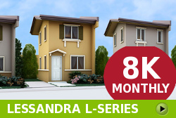 Lessandra Affordable Houses in  Camella Vista City